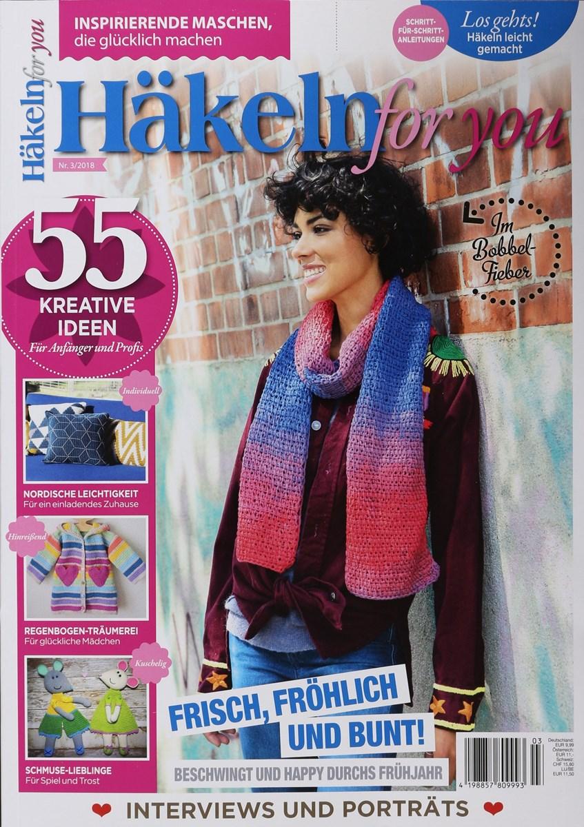 Häkeln For You 32018 Zeitungen Und Zeitschriften Online
