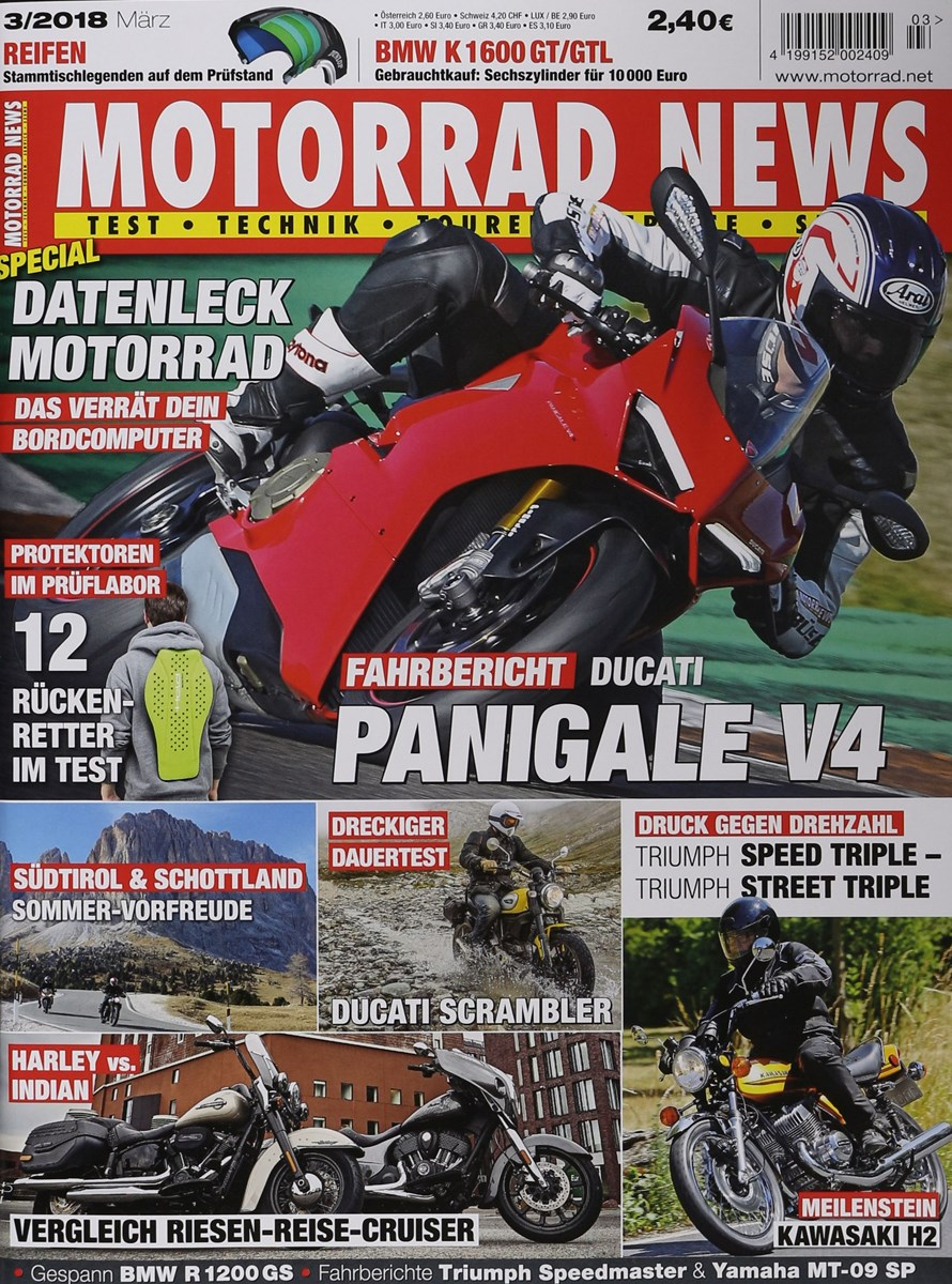 MOTORRAD NEWS 2/2017 - Zeitungen und Zeitschriften online