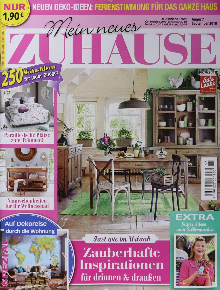 MEIN NEUES ZUHAUSE 4/2018 - Zeitungen und Zeitschriften online