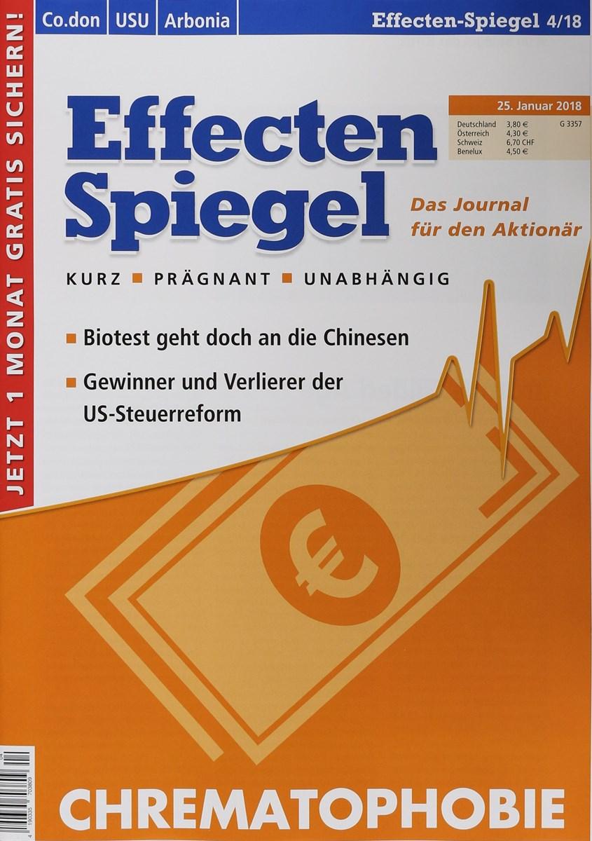 Effecten spiegel 4 2018 zeitungen und zeitschriften online for Spiegel cover juni 2018