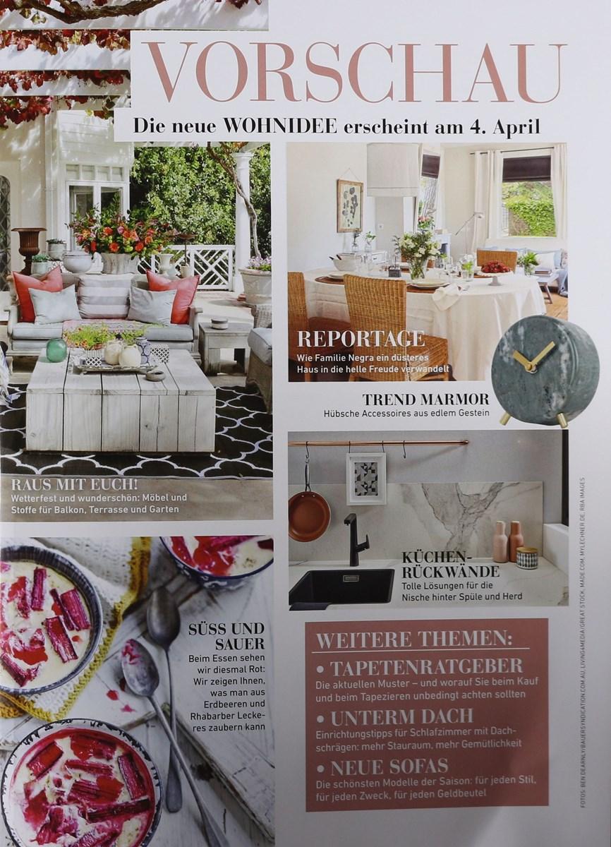 wohnidee 4 2018 zeitungen und zeitschriften online. Black Bedroom Furniture Sets. Home Design Ideas
