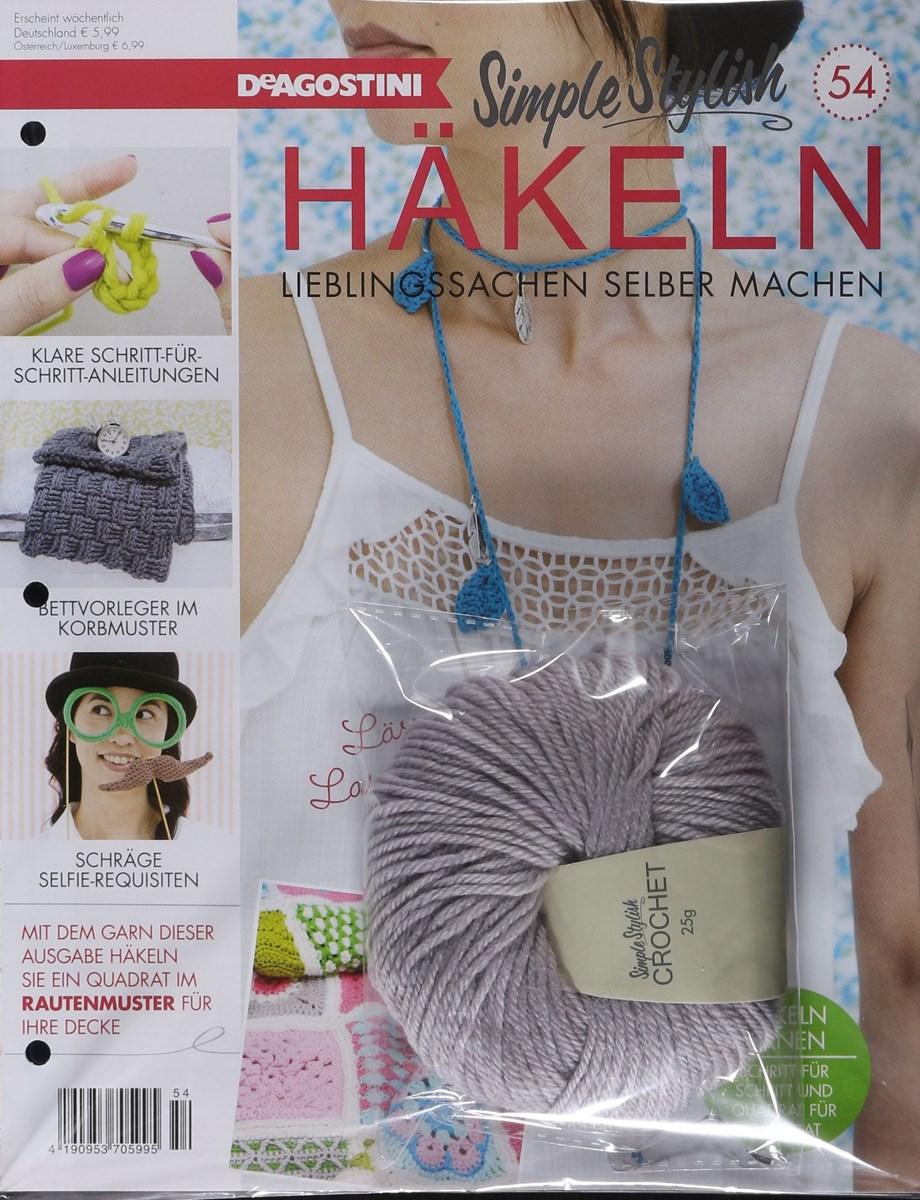 Simple Stylish Häkeln 542018 Zeitungen Und Zeitschriften Online