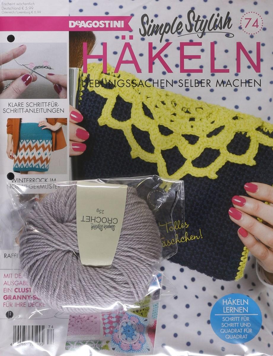 Simple Stylish Häkeln 742018 Zeitungen Und Zeitschriften Online