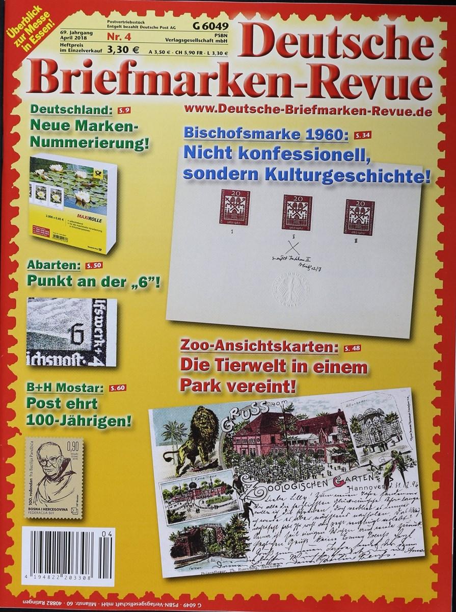 Deutsche Briefmarken Revue 42018 Zeitungen Und Zeitschriften Online