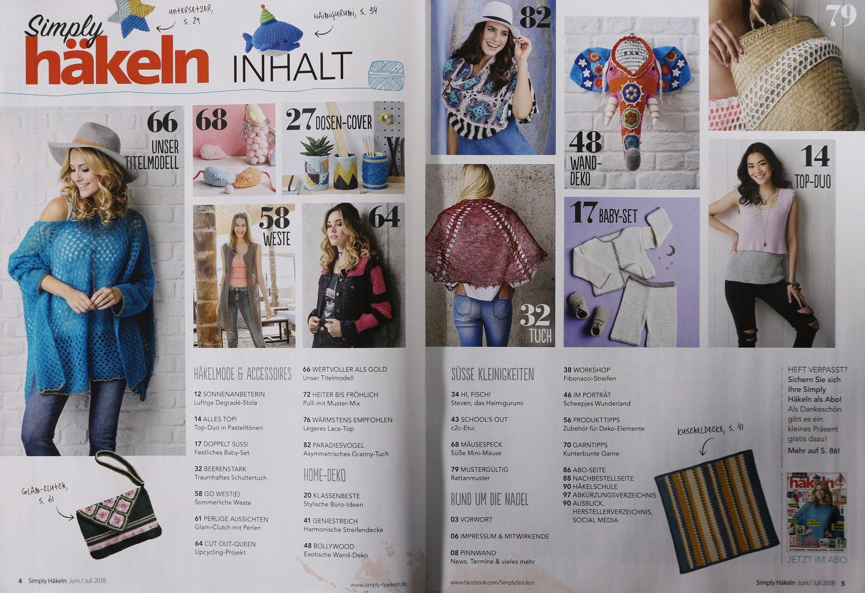 Simply Häkeln 42018 Zeitungen Und Zeitschriften Online
