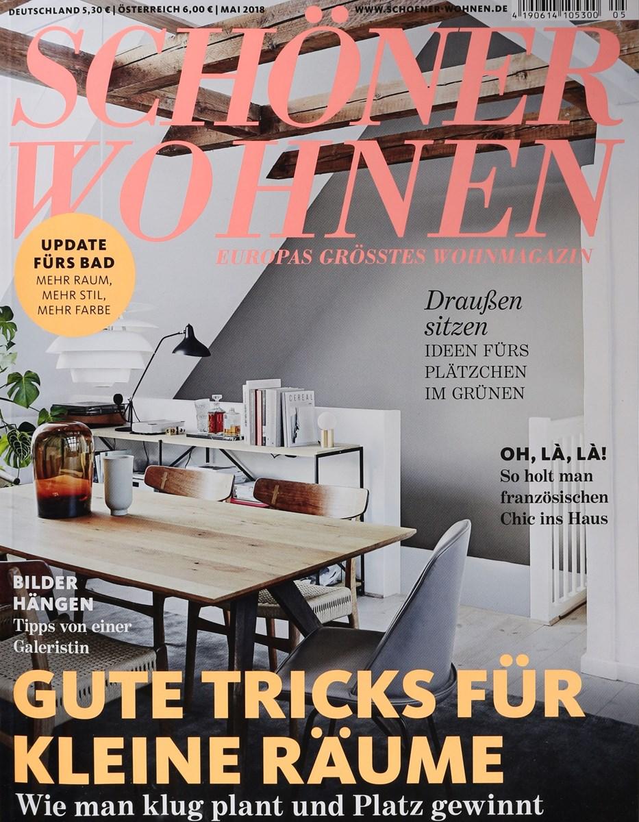 SCHÖNER WOHNEN 5/2018 - Zeitungen und Zeitschriften online