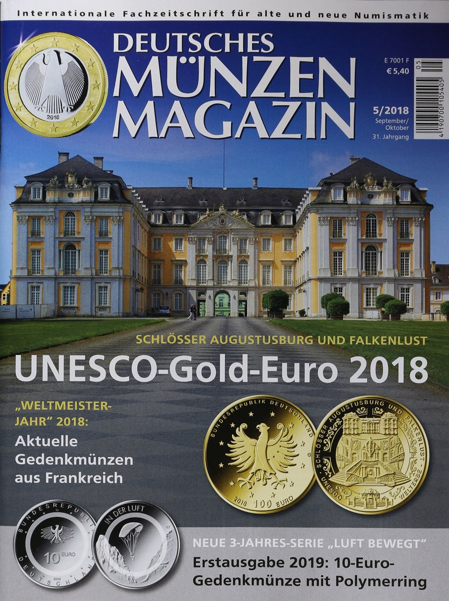 Deutsches Münzen Magazin 52018 Zeitungen Und Zeitschriften Online