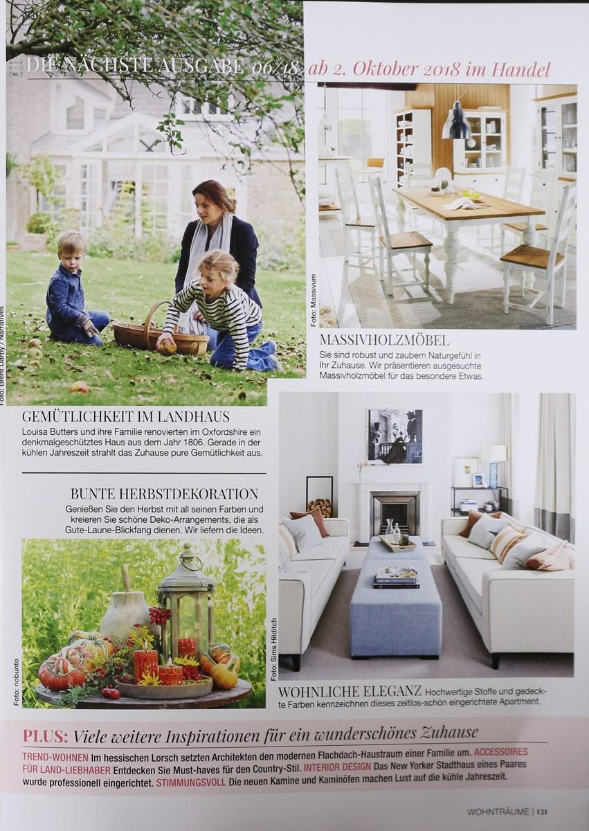 20 PRIVATE WOHNTRÄUME 5/2018 - Zeitungen und Zeitschriften online