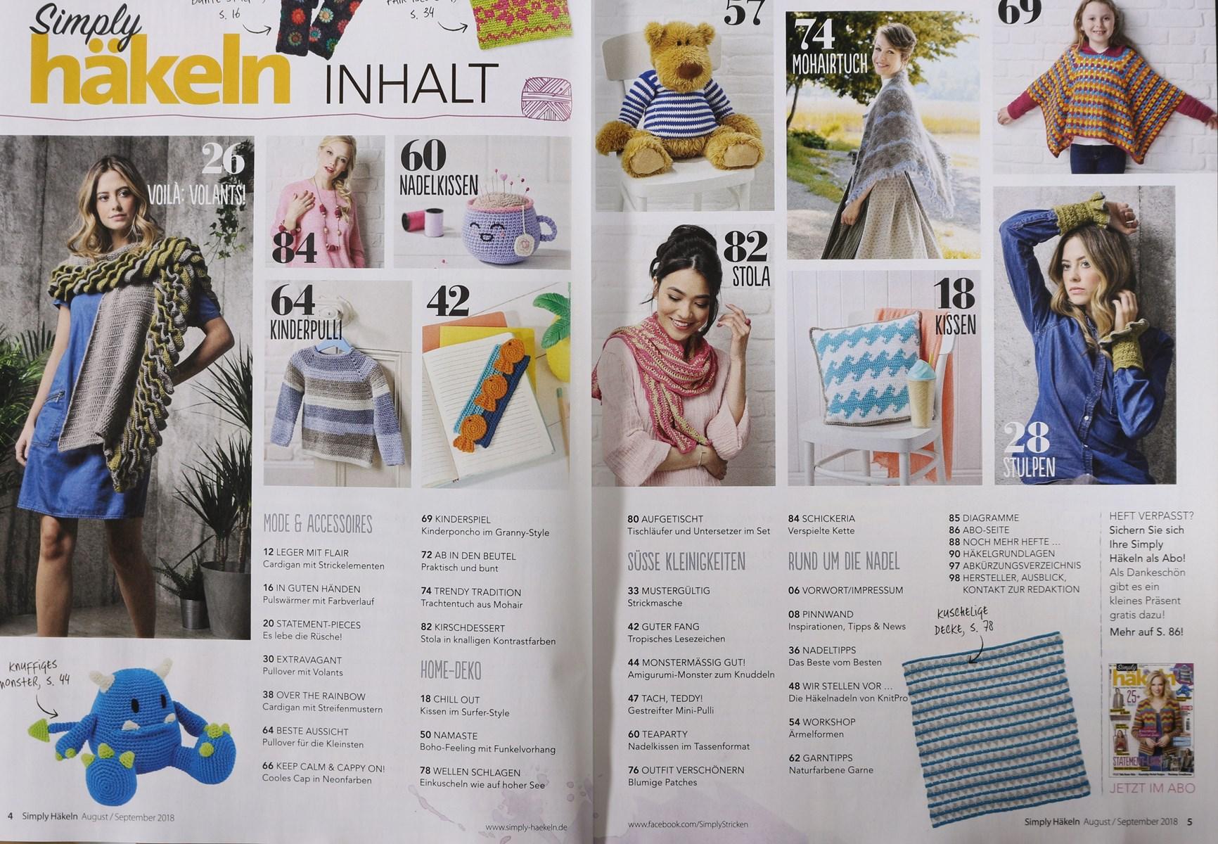 Simply Häkeln 52018 Zeitungen Und Zeitschriften Online