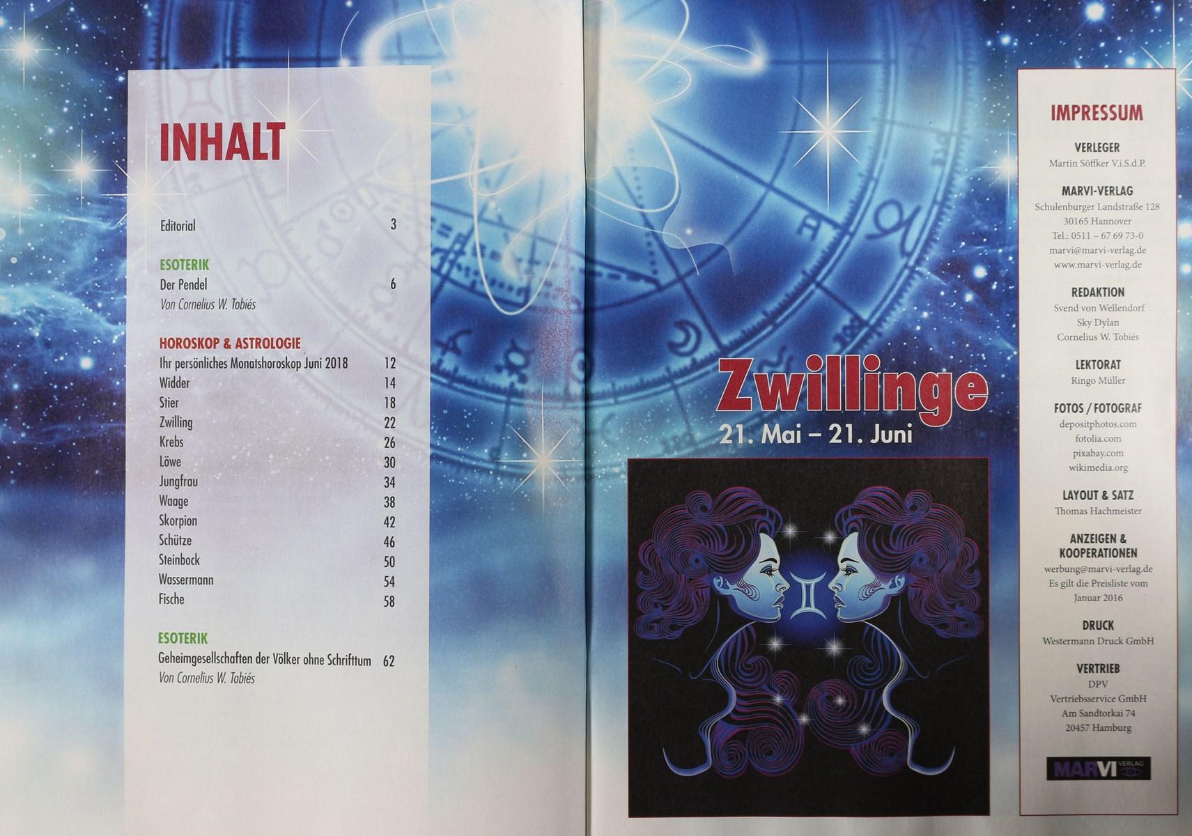 Volksblatt Horoskop