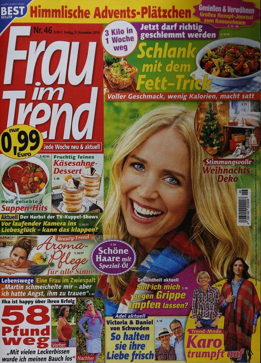 Frau Im Trend 462018 Zeitungen Und Zeitschriften Online