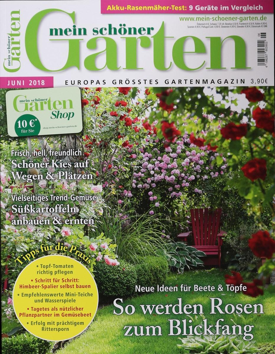 MEIN SCHÖNER GARTEN 6/2018 - Zeitungen und Zeitschriften online