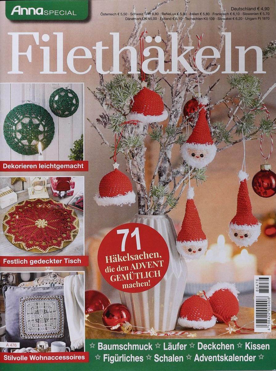 Filethäkeln Weihnachten Anna Special 4762018 Zeitungen Und