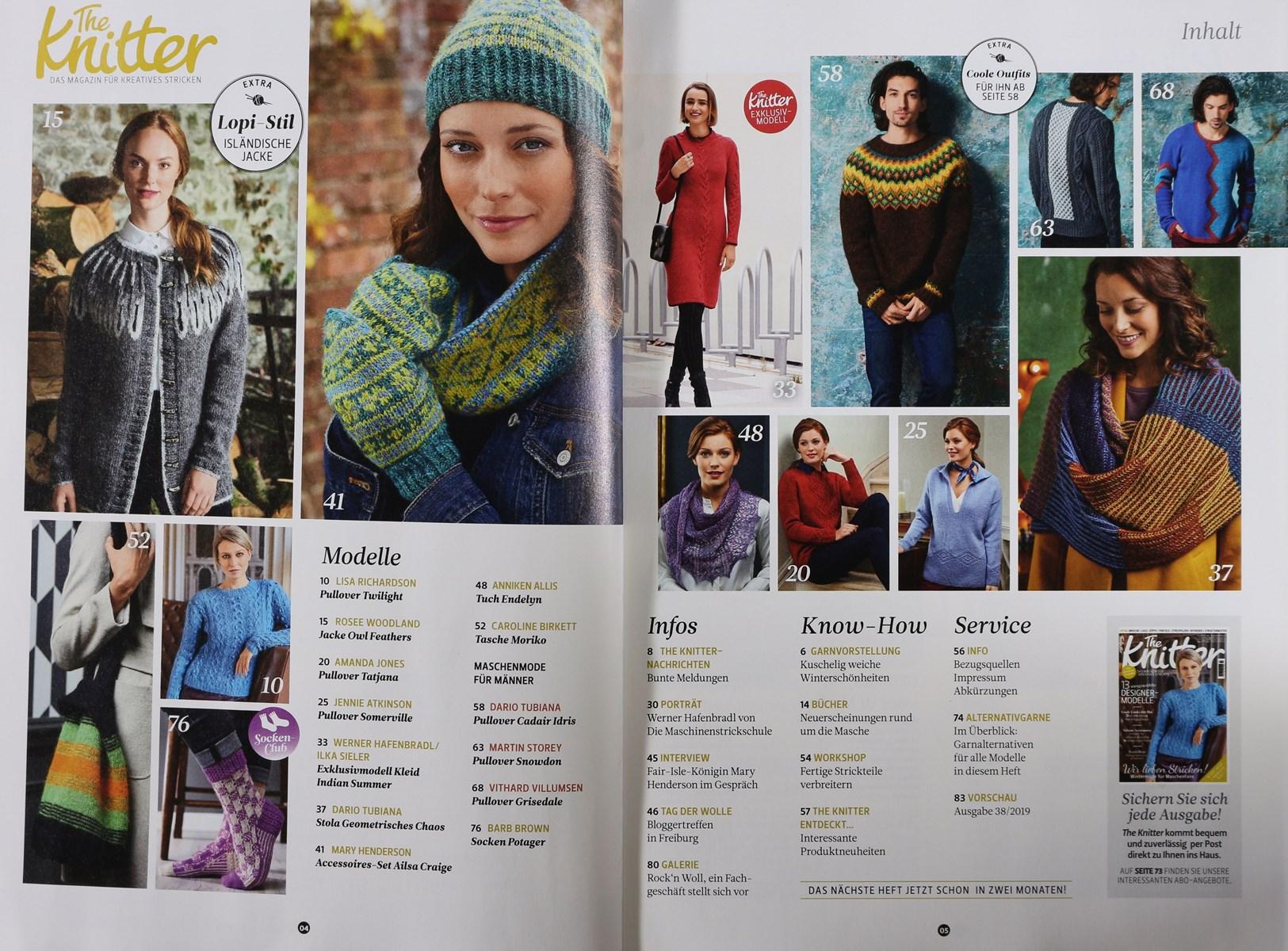 The Knitter 372018 Zeitungen Und Zeitschriften Online
