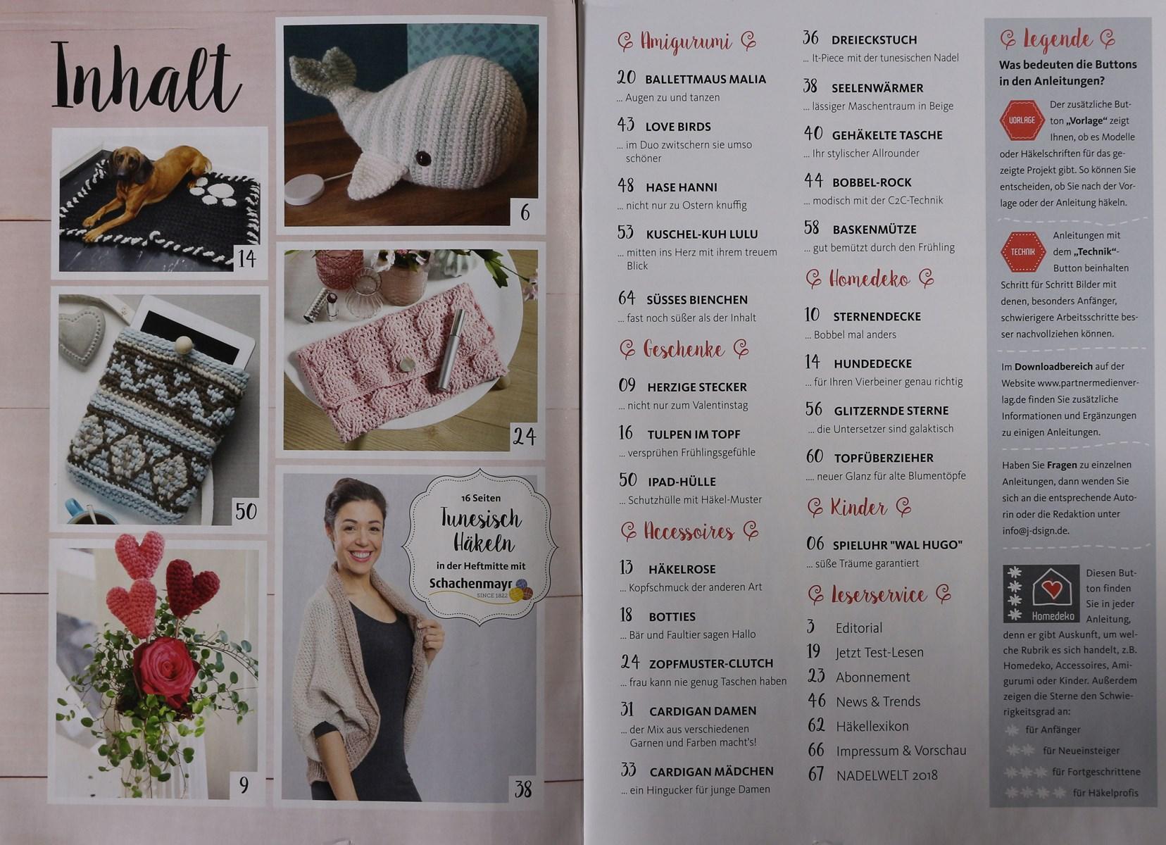 Häkeln Das Maschenmagazin 82018 Zeitungen Und Zeitschriften Online