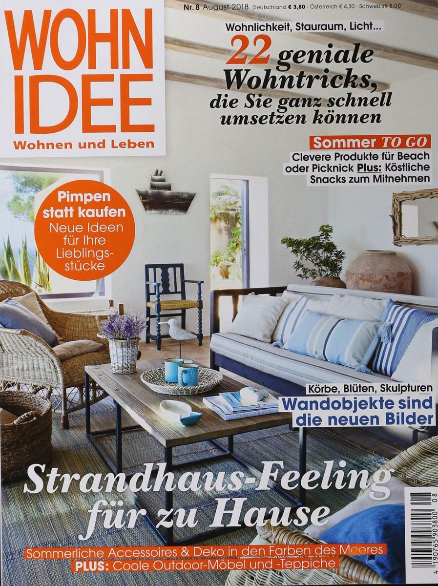 WOHNIDEE 8/2018 - Zeitungen und Zeitschriften online