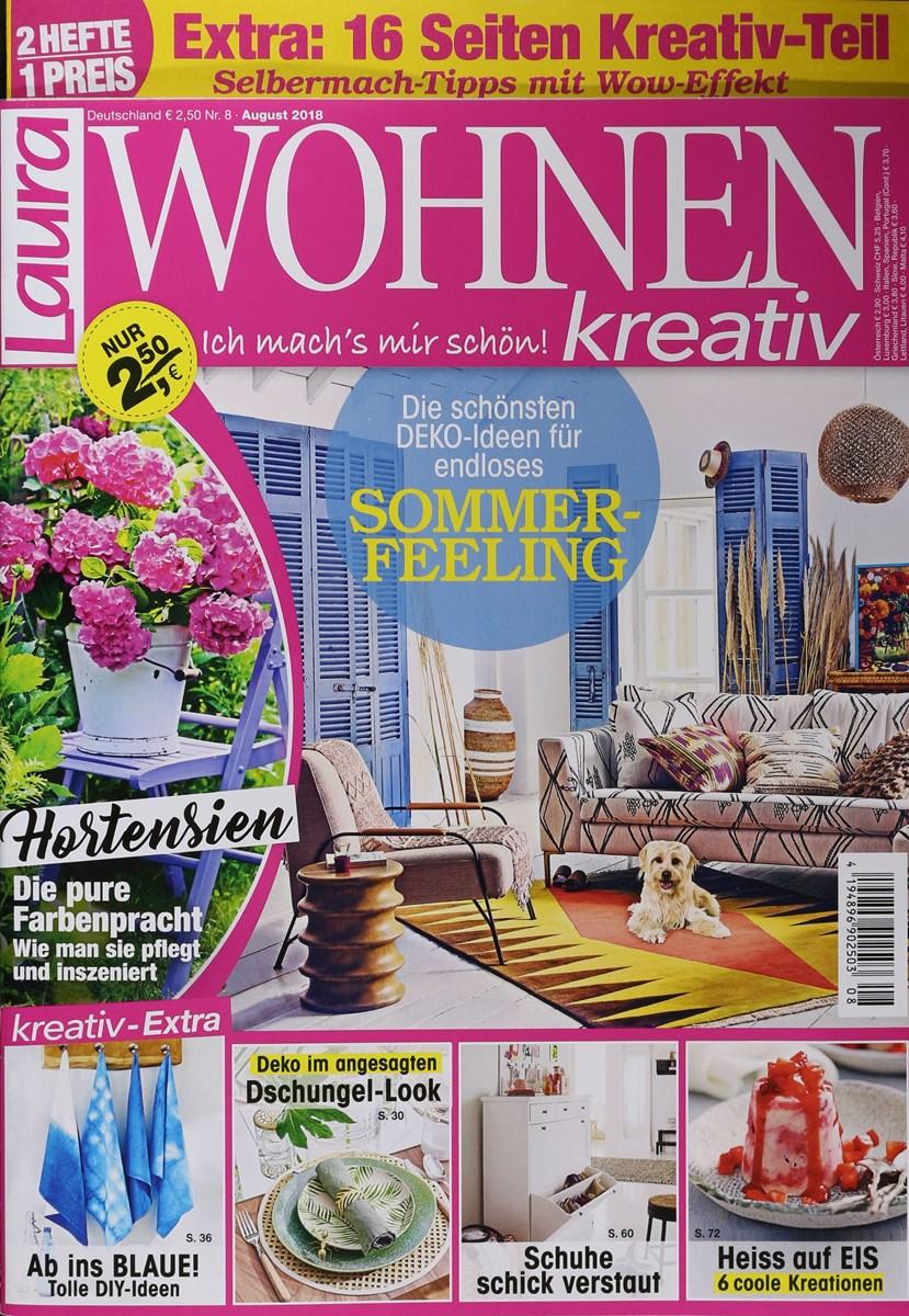 LAURA WOHNEN KREATIV 8/2018 - Zeitungen und Zeitschriften ...
