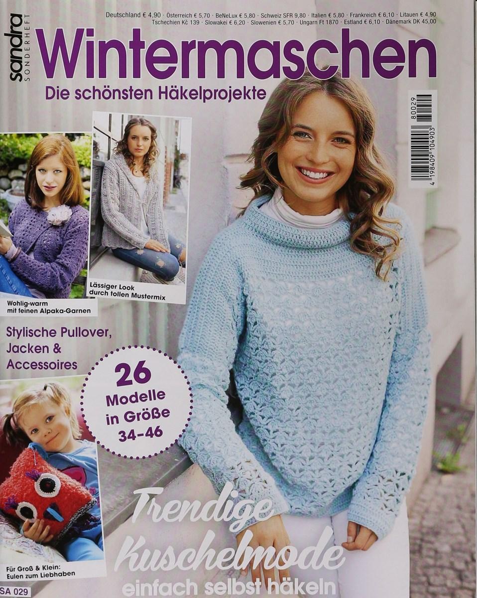 Wintermaschen Häkeln Sandra Sonderheft 292018 Zeitungen Und