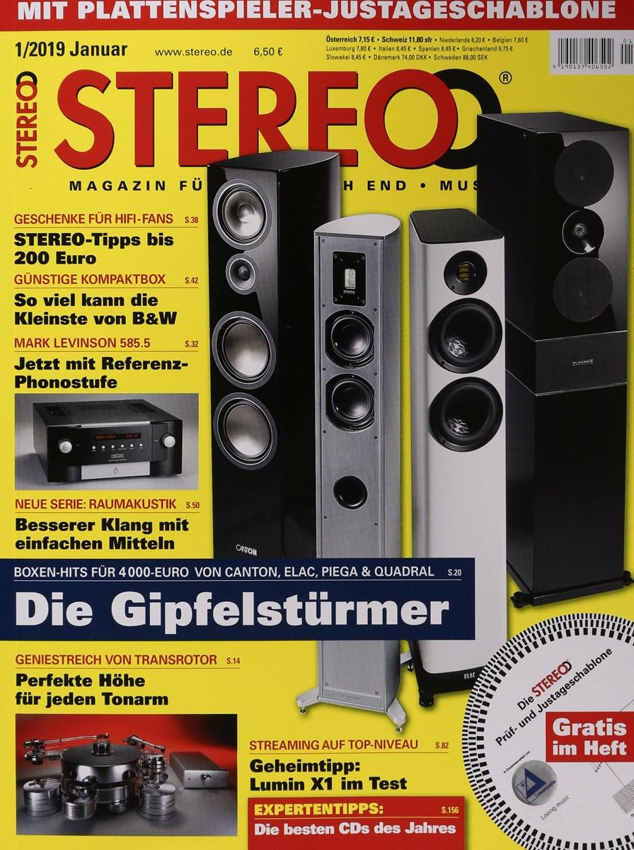 stereo 1 2019 zeitungen und zeitschriften online. Black Bedroom Furniture Sets. Home Design Ideas