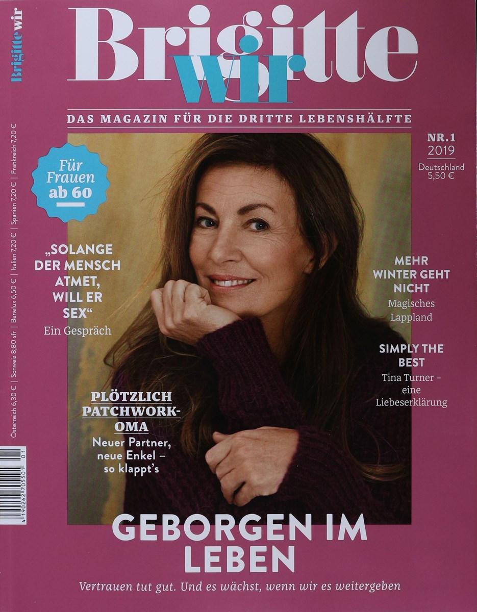 Brigitte Wir 1 2019 Zeitungen Und Zeitschriften Online