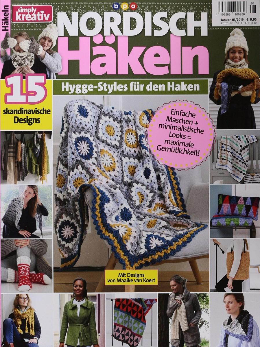Simply Kreativ Nordisch Häkeln 12019 Zeitungen Und Zeitschriften