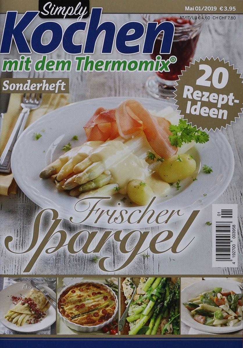 Simply Kochen Mdthermomix Frischer Spargel 12019 Zeitungen Und