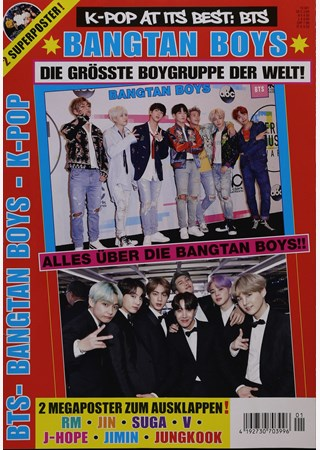 K-POP AT IT'S BEST:BTS POSTERMGAZIN