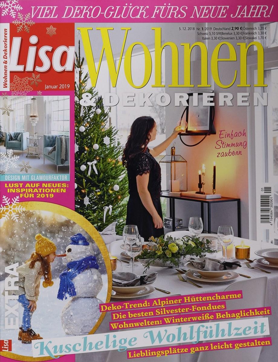 LISA WOHNEN & DEKORIEREN 1/2019 - Zeitungen und Zeitschriften online