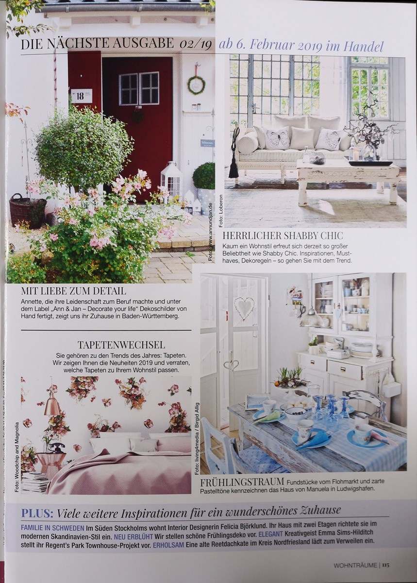 20 private wohntr ume 1 2019 zeitungen und zeitschriften online. Black Bedroom Furniture Sets. Home Design Ideas