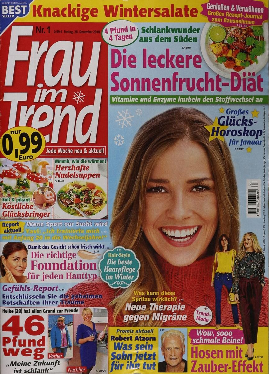 Frau Im Trend 12019 Zeitungen Und Zeitschriften Online