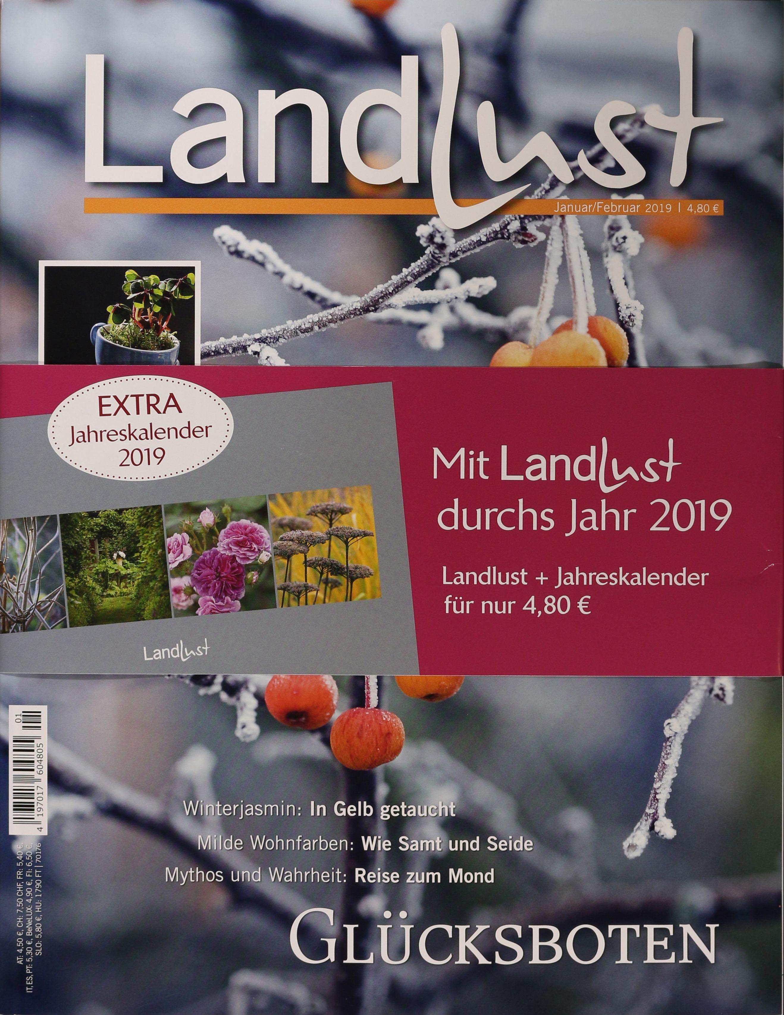 LANDLUST 1/2019   Zeitungen Und Zeitschriften Online
