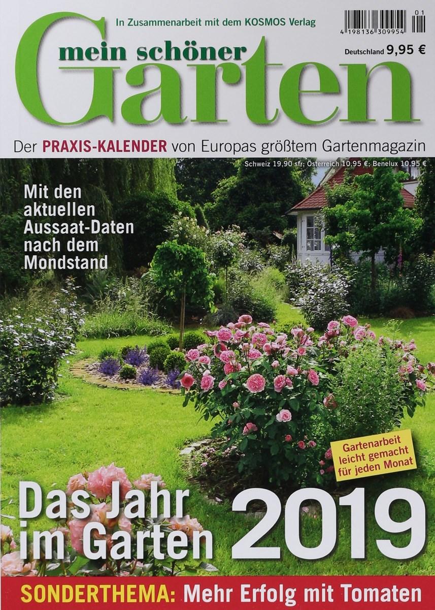 KALENDER MEIN SCHÖNER GARTEN 1/2019 - Zeitungen und Zeitschriften online