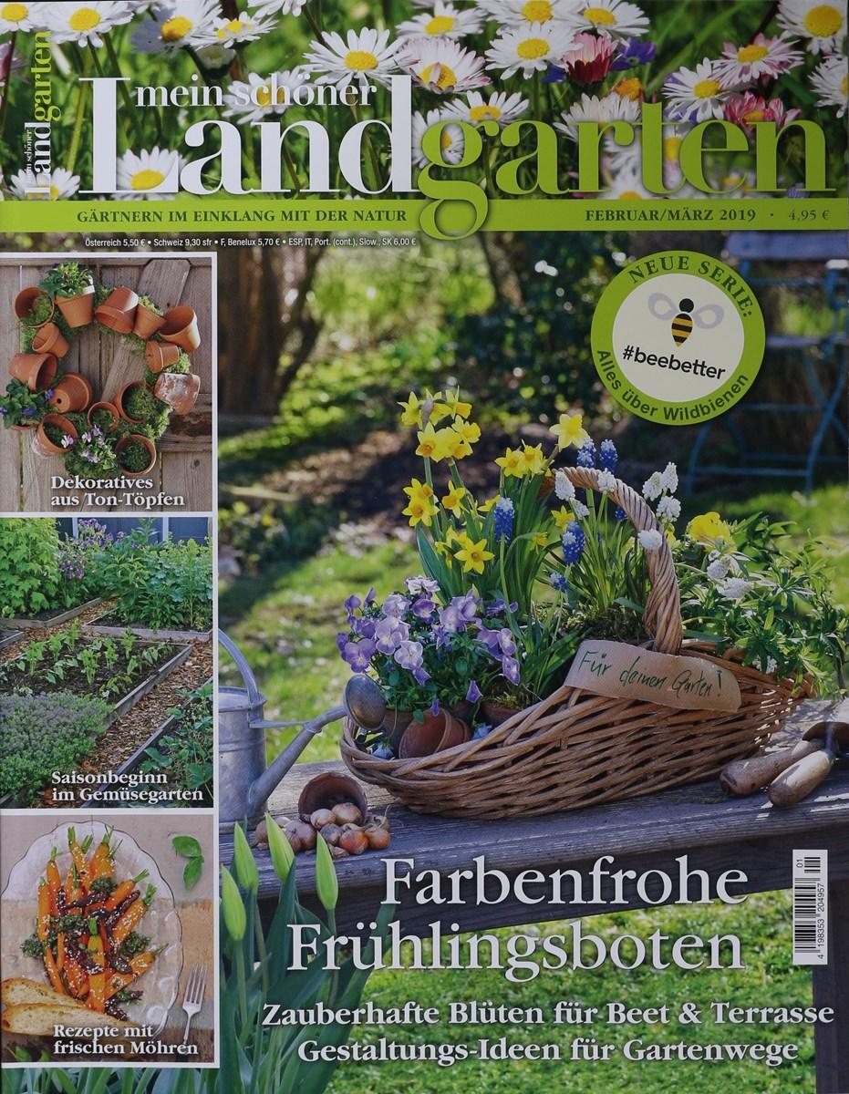 Mein Schoner Landgarten 1 2019 Zeitungen Und Zeitschriften Online