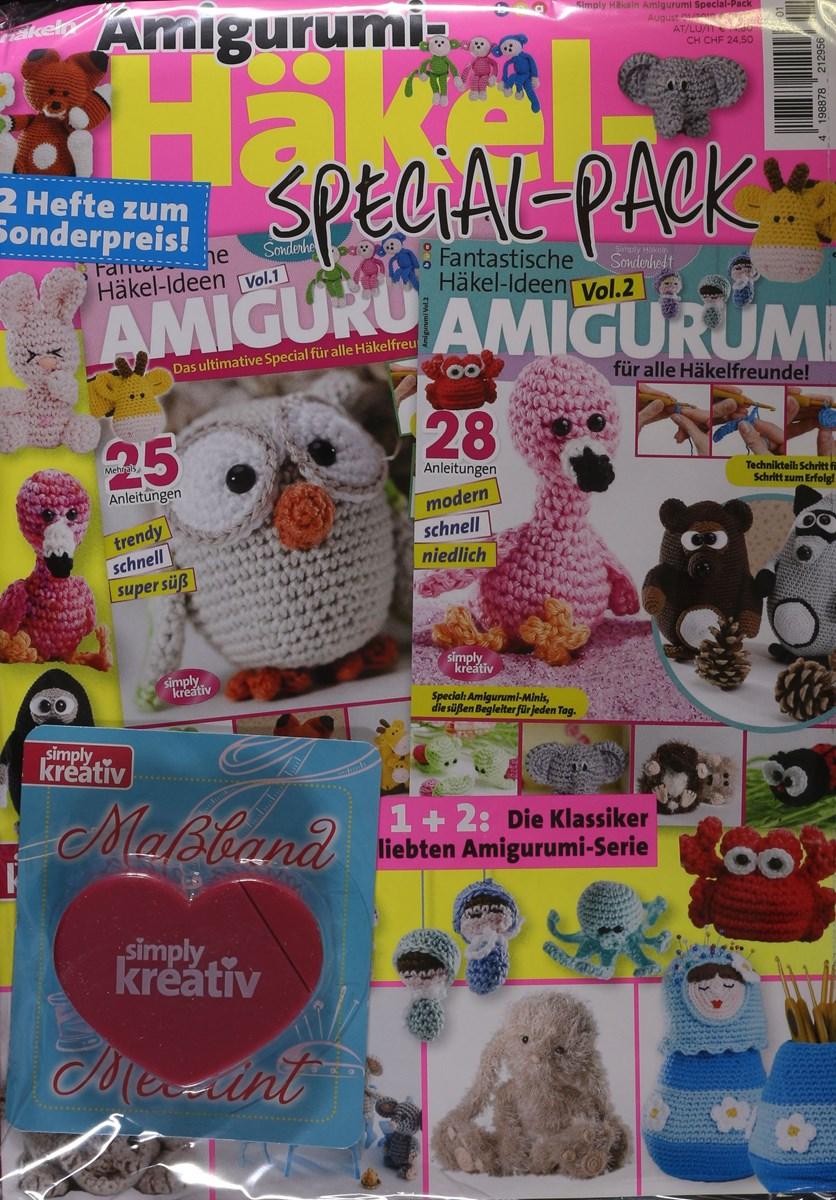 Sonderhefte Amigurumi | Simply Kreativ | 1200x836