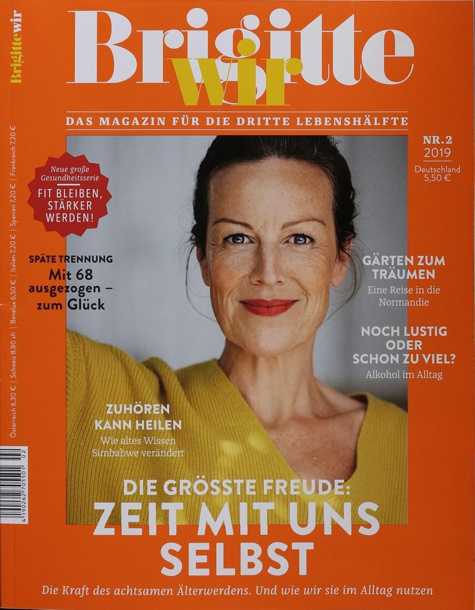 Brigitte Wir 2 2019 Zeitungen Und Zeitschriften Online