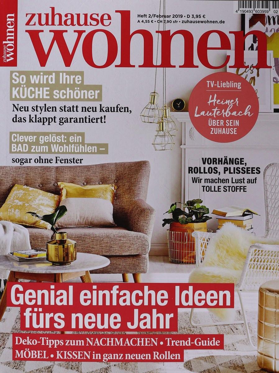 Zuhause Wohnen 22019 Zeitungen Und Zeitschriften Online