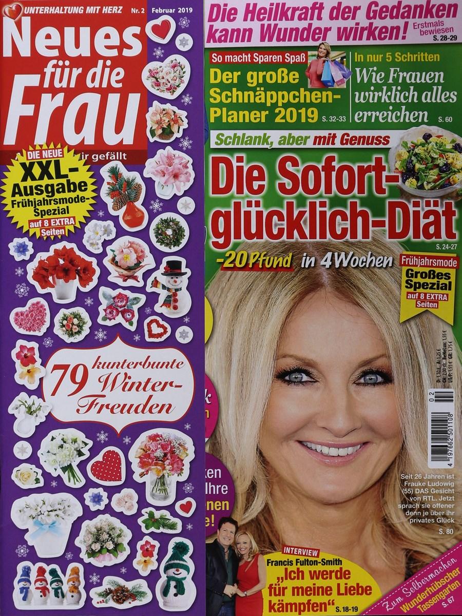 NEUES FÜR DIE FRAU 2/2019 - Zeitungen und Zeitschriften online