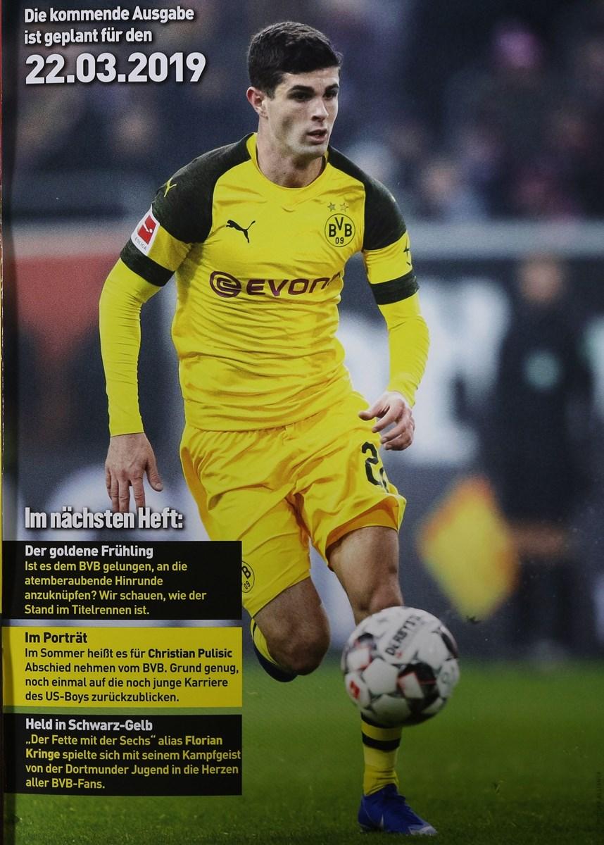 fussball magazin borussia dortmund 22019  zeitungen und