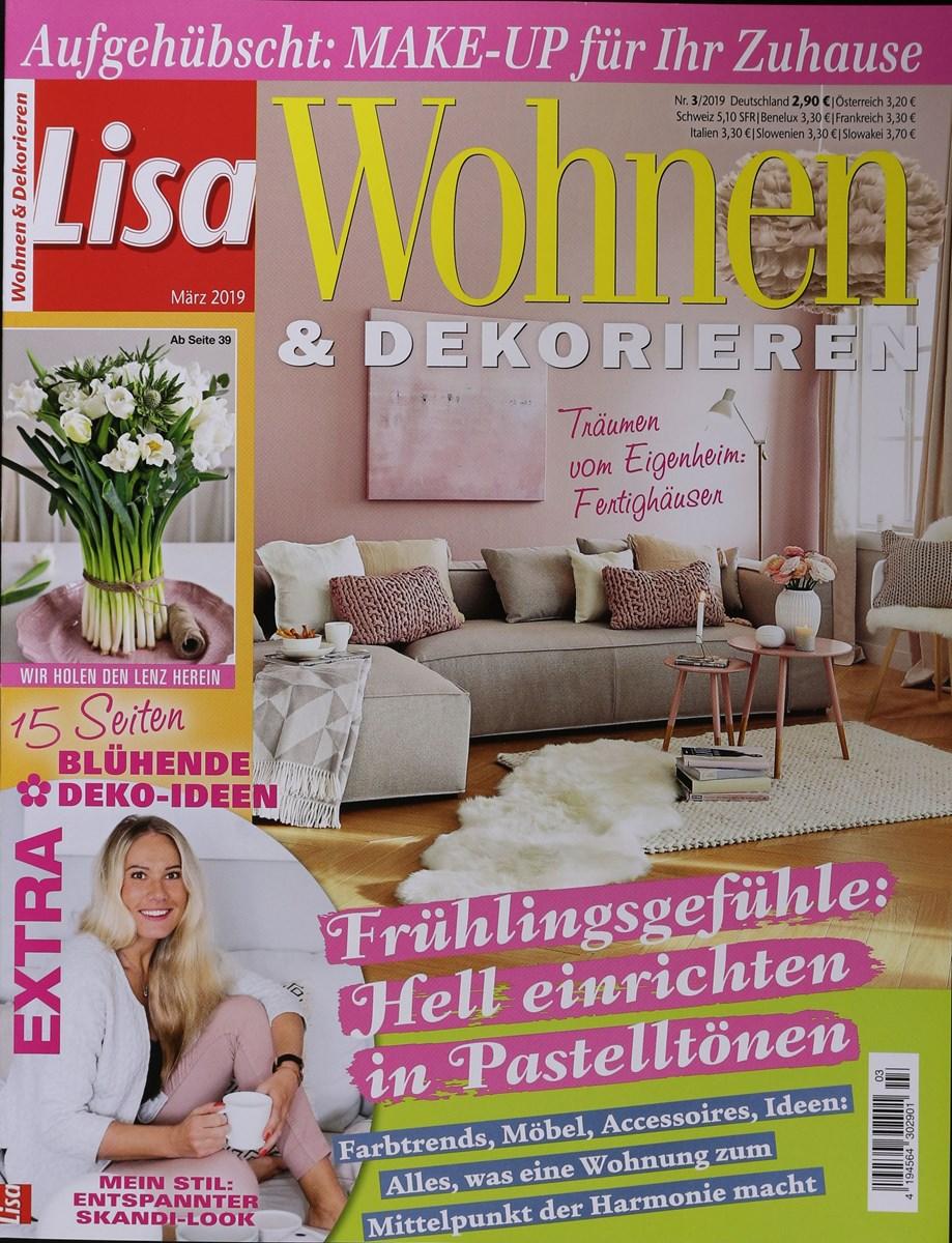 LISA WOHNEN & DEKORIEREN 3/2019 - Zeitungen und Zeitschriften online