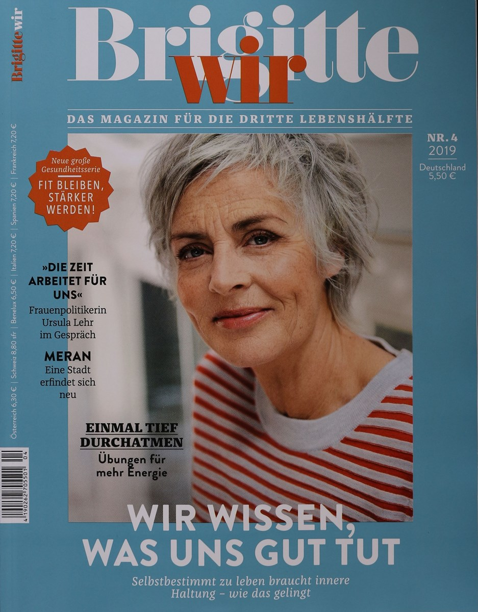 Brigitte Wir 4 2019 Zeitungen Und Zeitschriften Online