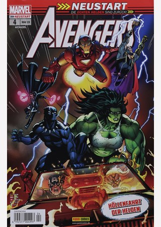 AVENGERS - MARVEL FRESH