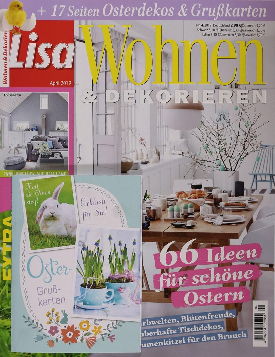 LISA WOHNEN & DEKORIEREN 4/2019 - Zeitungen und ...