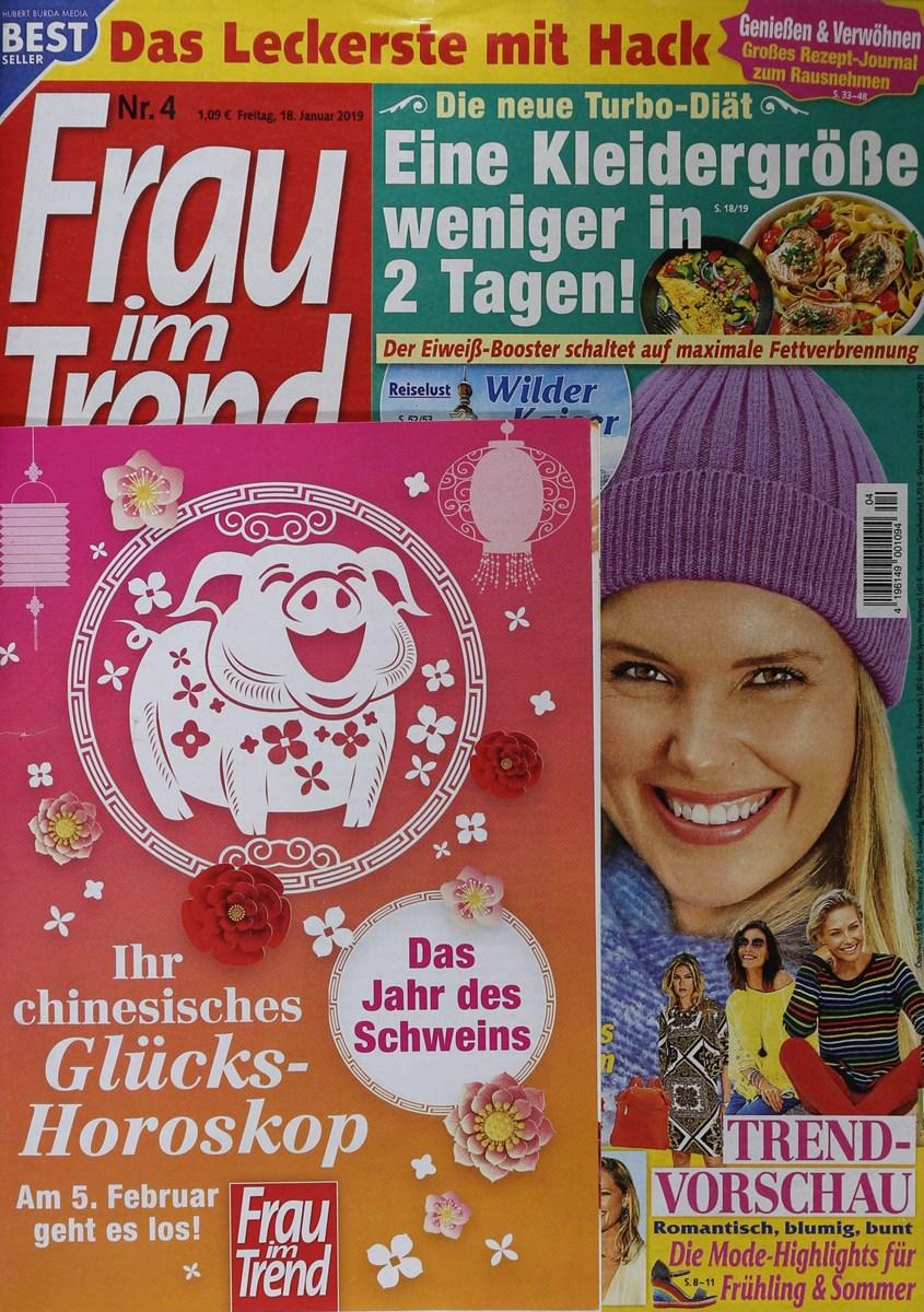 Frau Im Trend 42019 Zeitungen Und Zeitschriften Online