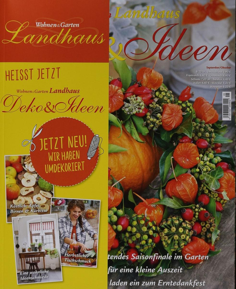 Wohnen Garten Landhaus Deko Ideen 5 2019 Zeitungen Und Zeitschriften Online