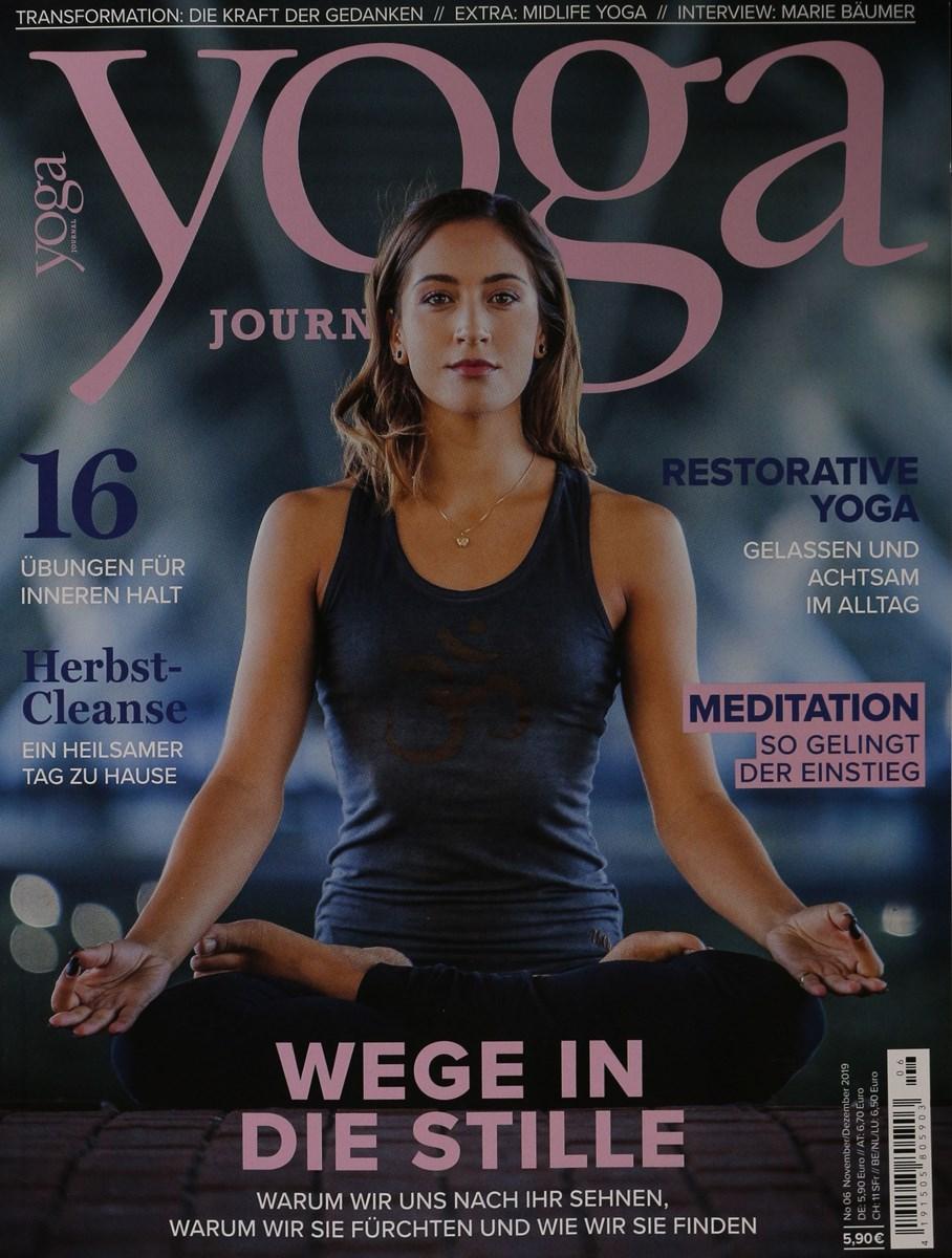 Yoga Journal 6 2019 Zeitungen Und Zeitschriften Online
