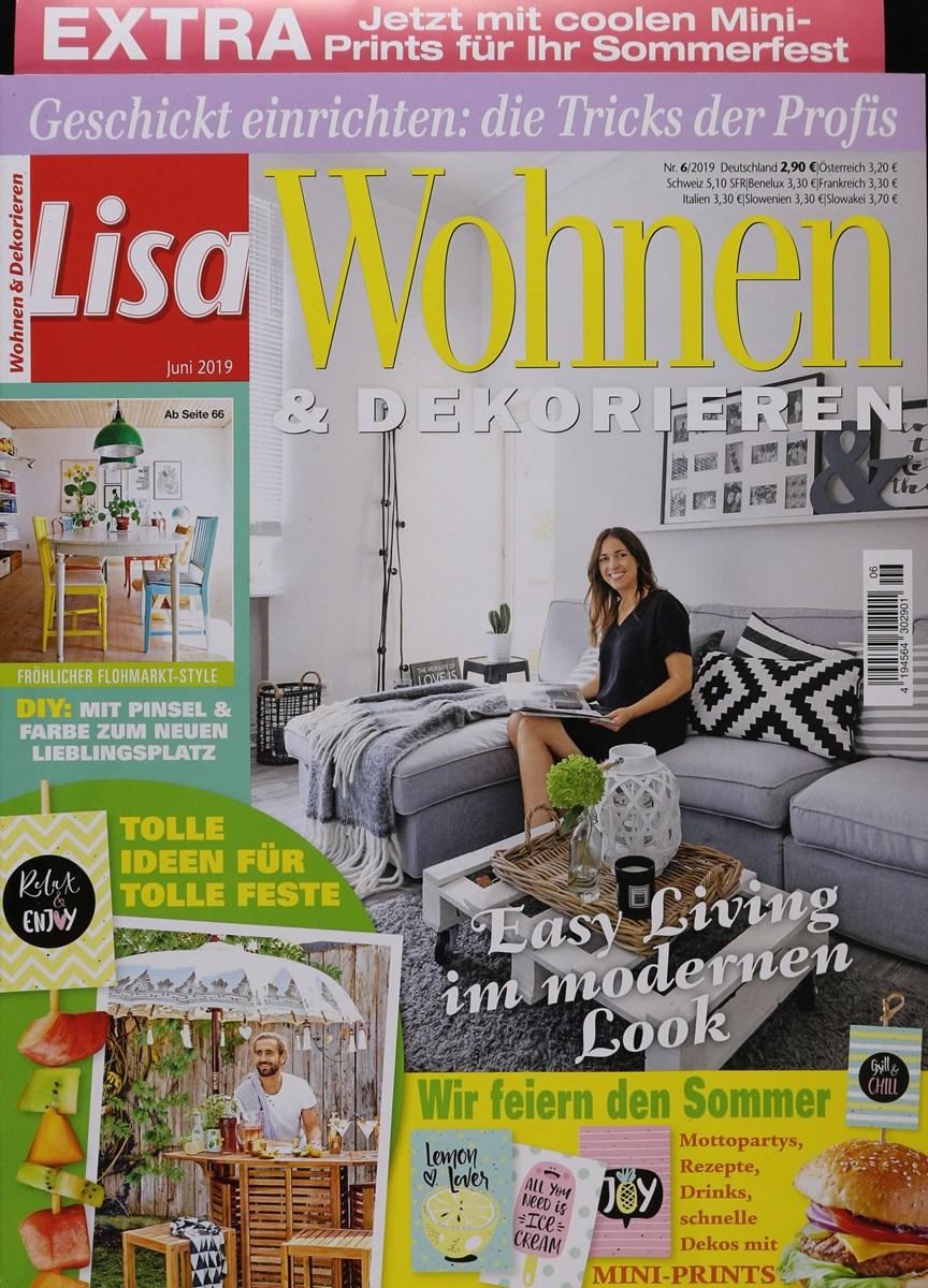 LISA WOHNEN & DEKORIEREN 6/2019 - Zeitungen und ...