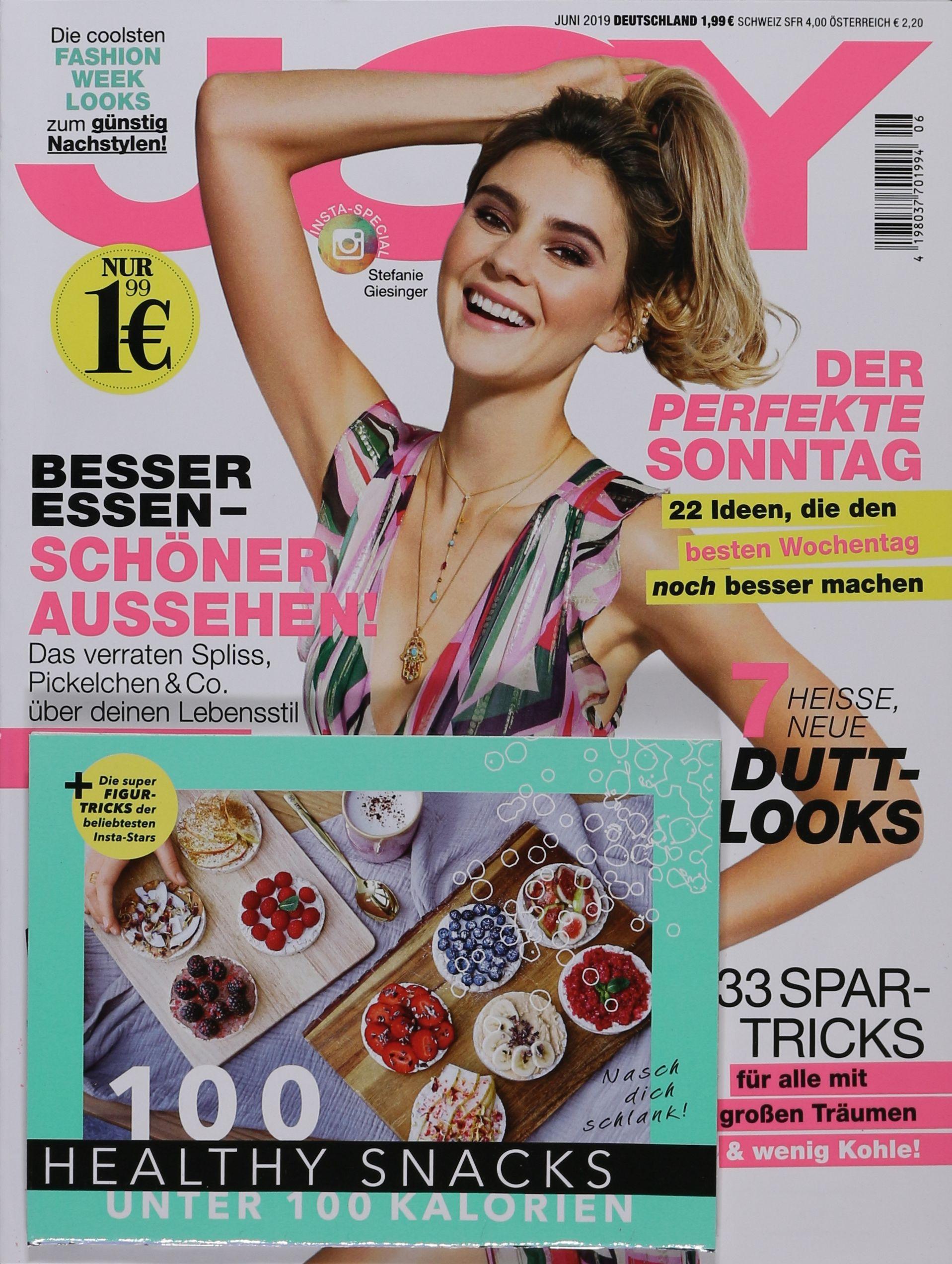 Joy Zeitschrift August 2019