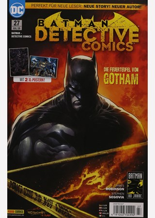 DC BATMAN DETECTIVE COMICS REBIRTH