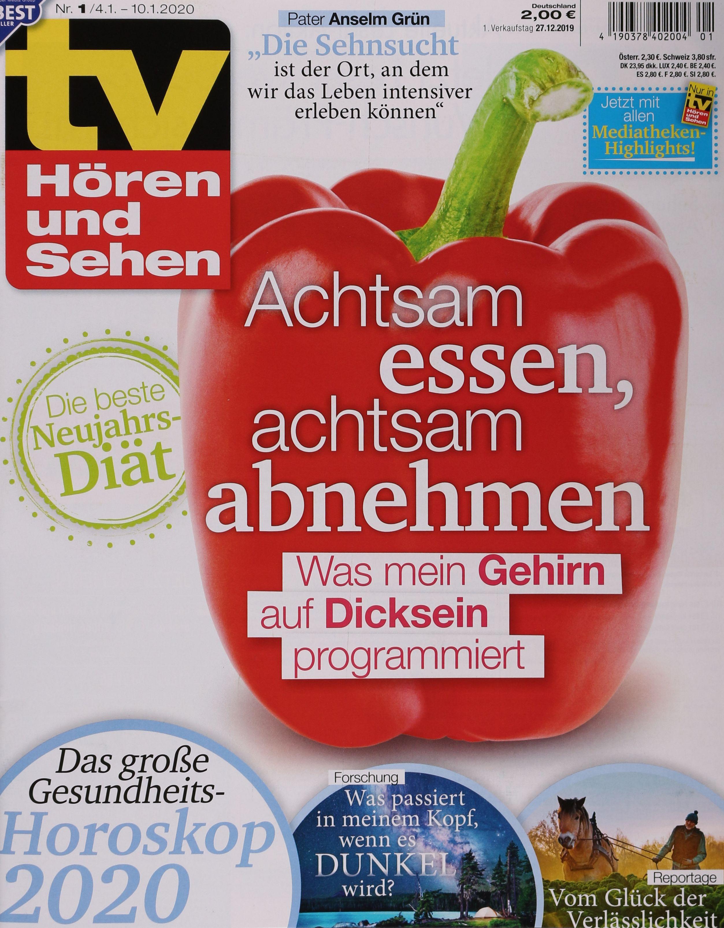 TV HÖREN+SEHEN 12020 Zeitungen und Zeitschriften online xIRJu