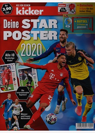 KICKER DEIN STARPOSTER